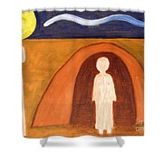 The Raising Of Lazarus Shower Curtain by Patrick J Murphy