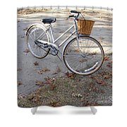 The Raleigh  Shower Curtain