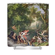 The Rape Of Proserpine Shower Curtain