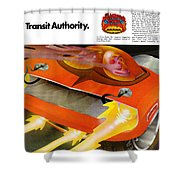 The Rapid Transit Authority Shower Curtain
