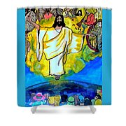 The Rapture  Shower Curtain