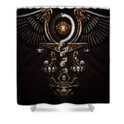 The Rapture Of Incarnation  Shower Curtain by Fred Andrews IV