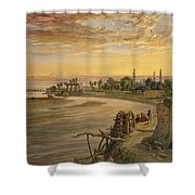 The Ravee River, From India Ancient Shower Curtain