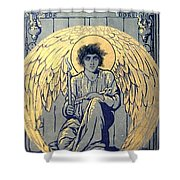 The Raven By Edgar Allan Poe Book Cover Shower Curtain