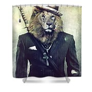 The Real King Shower Curtain
