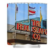 The Real Seafood Company 4201 Shower Curtain