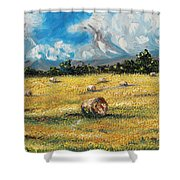 The Reaping Shower Curtain