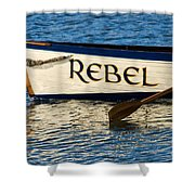 The Rebel Shower Curtain