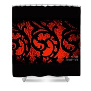 The Red Room Shower Curtain