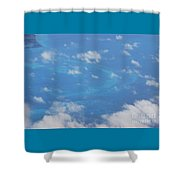 The Reefs From The Air, Bermuda # 6 Shower Curtain