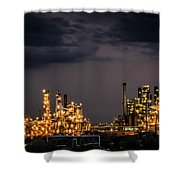 The Refinery Shower Curtain