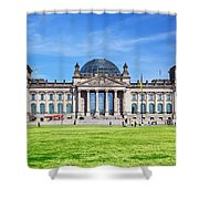 The Reichstag Building Berlin Germany Shower Curtain