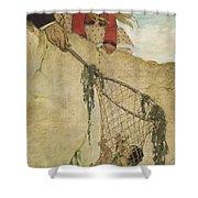 The Rescue Circa 1916 Shower Curtain