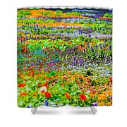 The Resort For Insects Shower Curtain