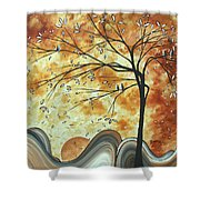 The Resting Place By Madart Shower Curtain