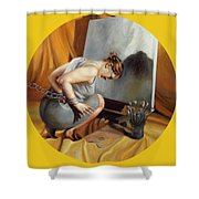 The Restricted Shower Curtain by Shelley Irish