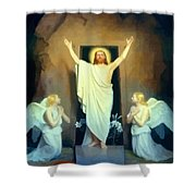 The Resurrection Of Christ By Carl Heinrich Bloch  Shower Curtain
