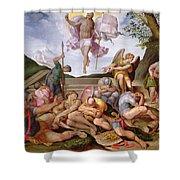 The Resurrection Of Christ, Florentine School, 1560 Shower Curtain