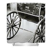 The Rickshaw Shower Curtain