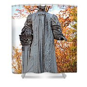 The Right Reverend William Pinkney Shower Curtain