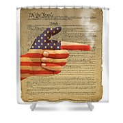 The Right To Bear Arms-4 Shower Curtain