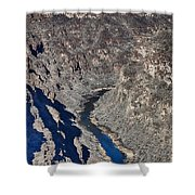 The Rio Grande River-arizona  Shower Curtain