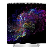 The Ripple Effect Shower Curtain