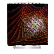 The Rippled Effect Shower Curtain
