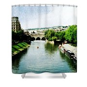 The River Avon Shower Curtain