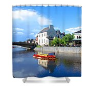 The River Nore Shower Curtain
