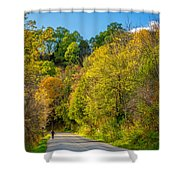 The River Road Shower Curtain