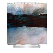 The River Tethys Part 1 Of Three Shower Curtain