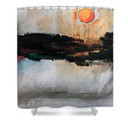 The River Tethys Part Three Of Three Shower Curtain
