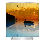 The Riverboat... Shower Curtain