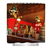 The Rivers Saloon Shower Curtain