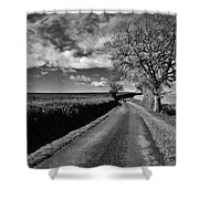 The Road Shower Curtain