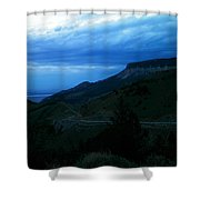 The Road To Cody Shower Curtain