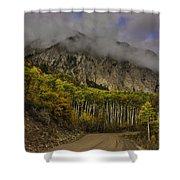 The Road To Glory Shower Curtain