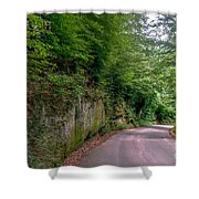 The Road To Nowhere Shower Curtain