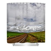 The Road To Where Shower Curtain