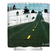 The Road Travel Shower Curtain