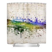 The Rock Shower Curtain by Aged Pixel