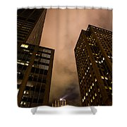 The Rock At Night Shower Curtain