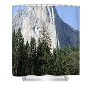 The Rock Chief Shower Curtain
