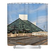 The Rock Hall Shower Curtain