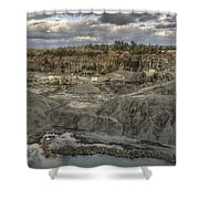 The Rock Quarry Shower Curtain