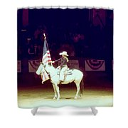 The Rodeo  Shower Curtain