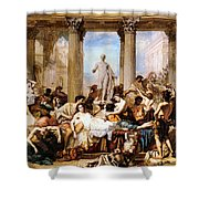 The Romans Of The Decadence Shower Curtain