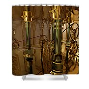 The Room Of Gears Shower Curtain