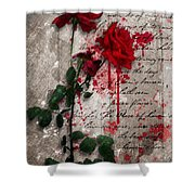 The Rose Of Sharon Shower Curtain